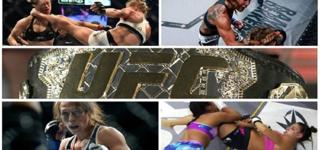 Ingredients to make the perfect female MMA fighter