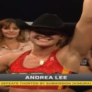 Video: Andrea 'KGB' Lee defends LFA flyweight with beautiful submission