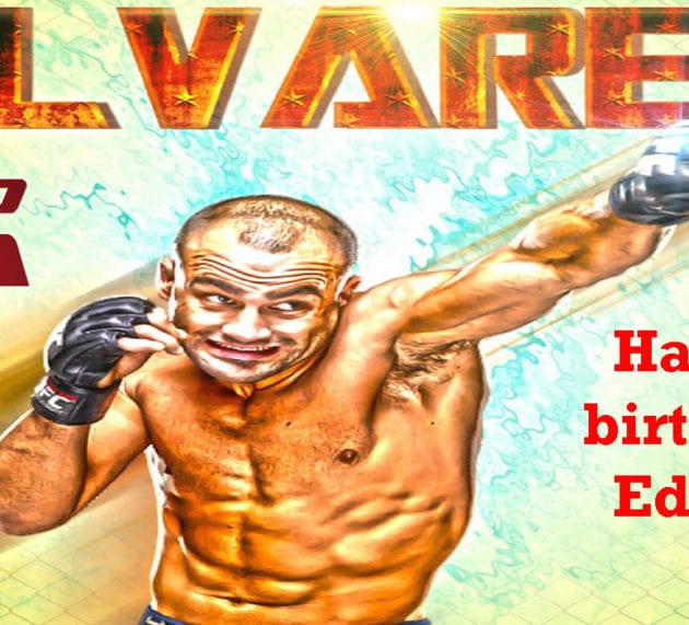 Happy birthday 'Underground King' Eddie Alvarez (34 years old)