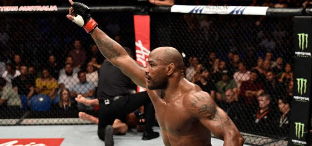 Video: Yoel Romero viciously knocks out Luke Rockhold