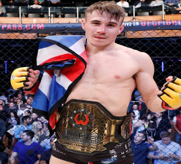 Nathaniel 'The Prospect' Wood wants a spot in UFC Liverpool