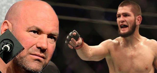 Khabib Nurmagomedov acusa a UFC de no promover a peleadores rusos
