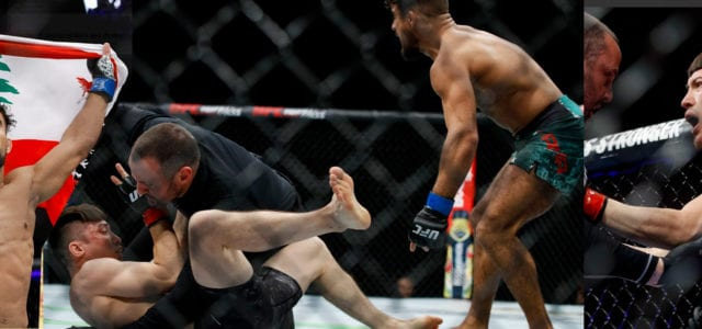 Video: En 25 segundos Khalid Taha noquea a Boston Salmon en UFC 236