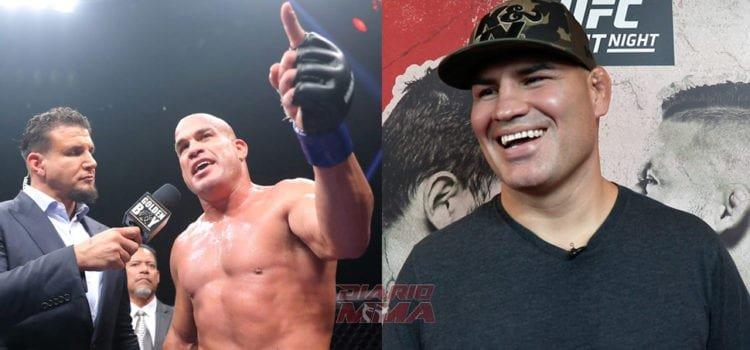 Tito Ortiz afirma que Cain Velasquez pelearía con él en 210 libras